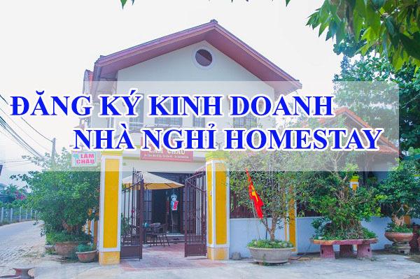 đăng ký kinh doanh homestay